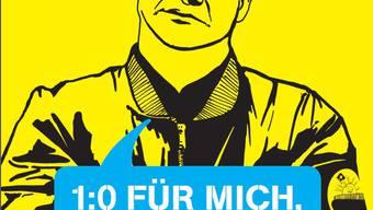 Mit diesem Plakat hat sich die Juso Basel-Stadt den Ärger der SVP eingehandelt