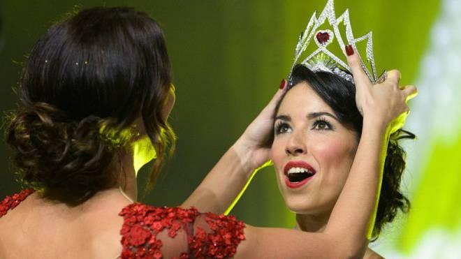 Schweizer «Monarchie» droht das Ende (im Bild die aktuelle Miss Lauriane Sallin). Foto: Keystone