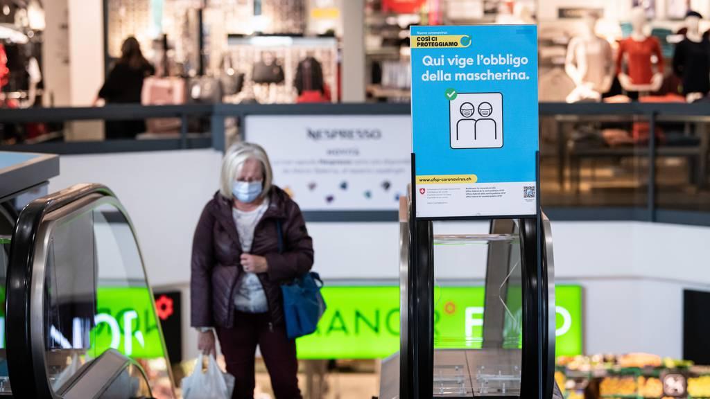 Kanton Tessin führt Maskenpflichtim Freien ein