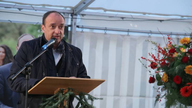 Wahlfeier für Regierungsrat Markus Dieth in Wettingen