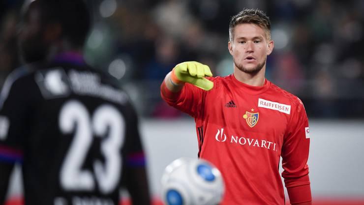 Tomas Vaclik gibt heute für den FC Basel seinen Einstand im Schweizer Cup.