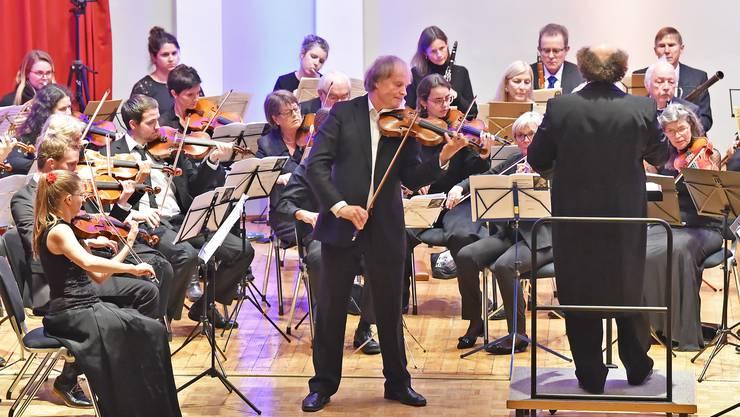 Konzert des Oltner Stadtorchesters mit Stargeiger Alexandre Dubach