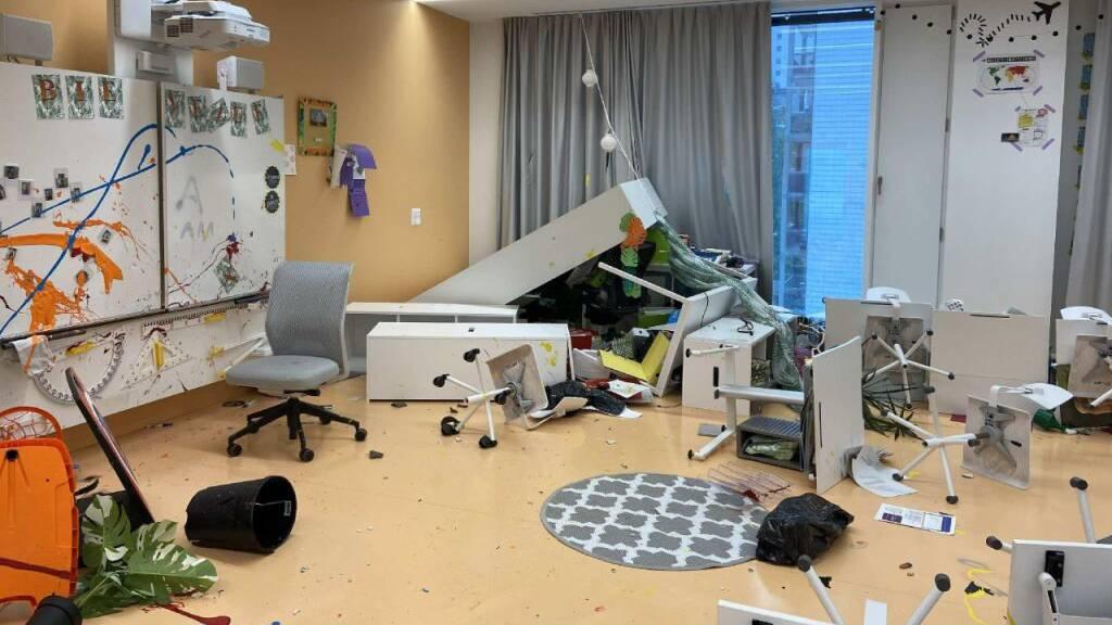 14-Jährige verursachen in Freiburger Schule sechsstelligen Schaden
