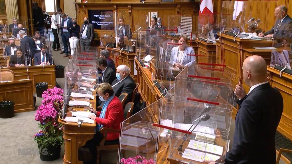 Covid-Debatte: Alain Berset dämpft im Parlament die Erwartungen auf Lockerungen