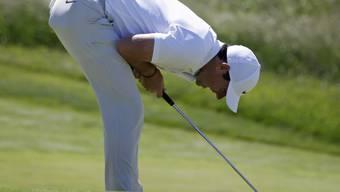 Rory McIlroy kann nicht glauben, was es beim Auftakt zum US Open bietet