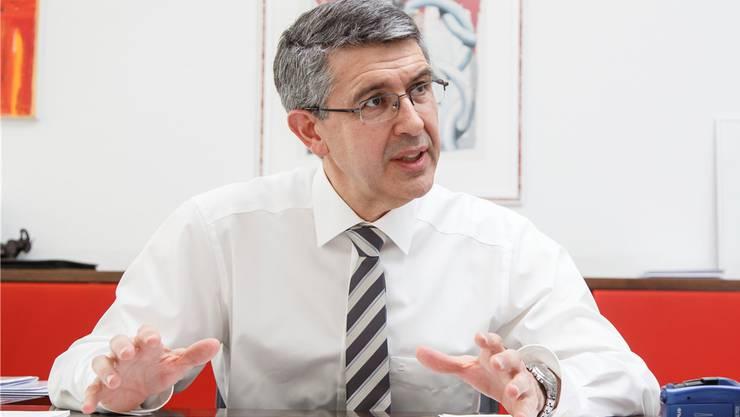 Josef Maushart sieht einen «ungesunden Strukturwandel», unter welchem, die Industrie leidet.