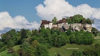 Lockt mit seinem Barockgarten und seiner Ruhe: Das Schloss Lenzburg