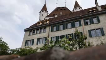 Sicht auf das Schloss Thun