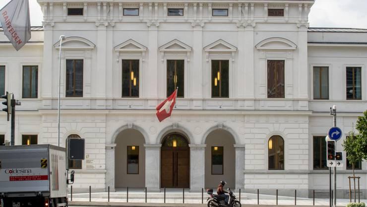 Das Bundestrafgericht in Bellinzona (Symbolbild)