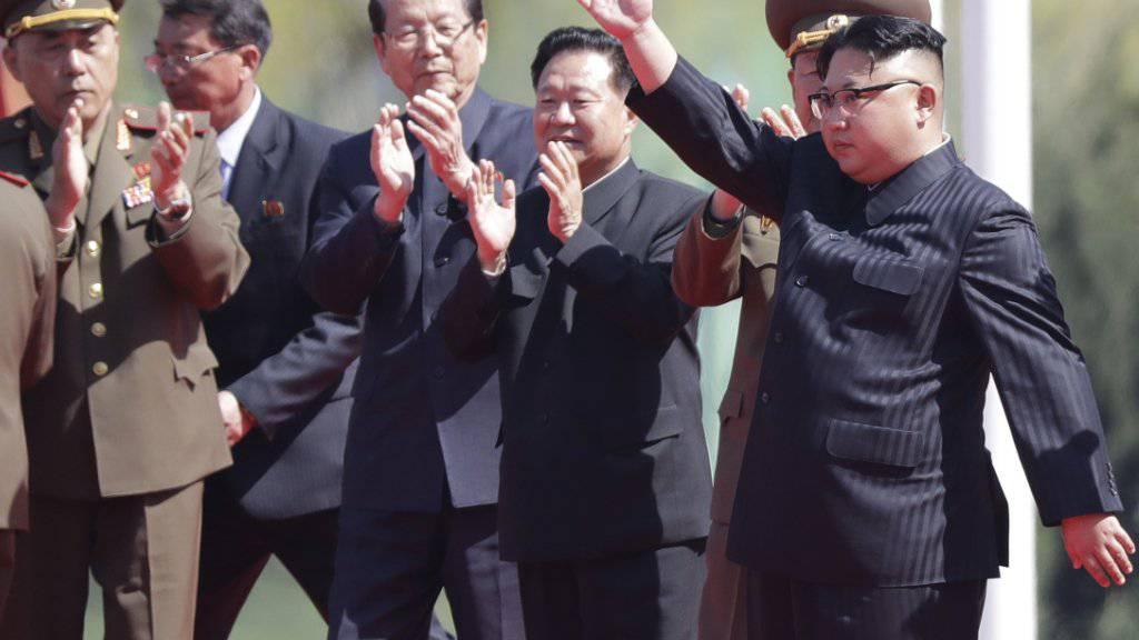 Auf Kim Jong Un und sein Land sind sämtliche Augen einer neuen CIA-Einheit gerichtet. (Archivbild)