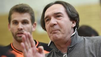 Zoltan Cordas (l.) übernimmt im Sommer das Traineramt bei St. Otmar St. Gallen.