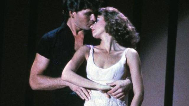 Bild aus dem Film mit Patrick Swayze und Jennifer Grey (Archiv)