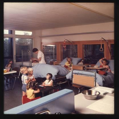 Der Bruderholzalltag in den 1970er-Jahren.