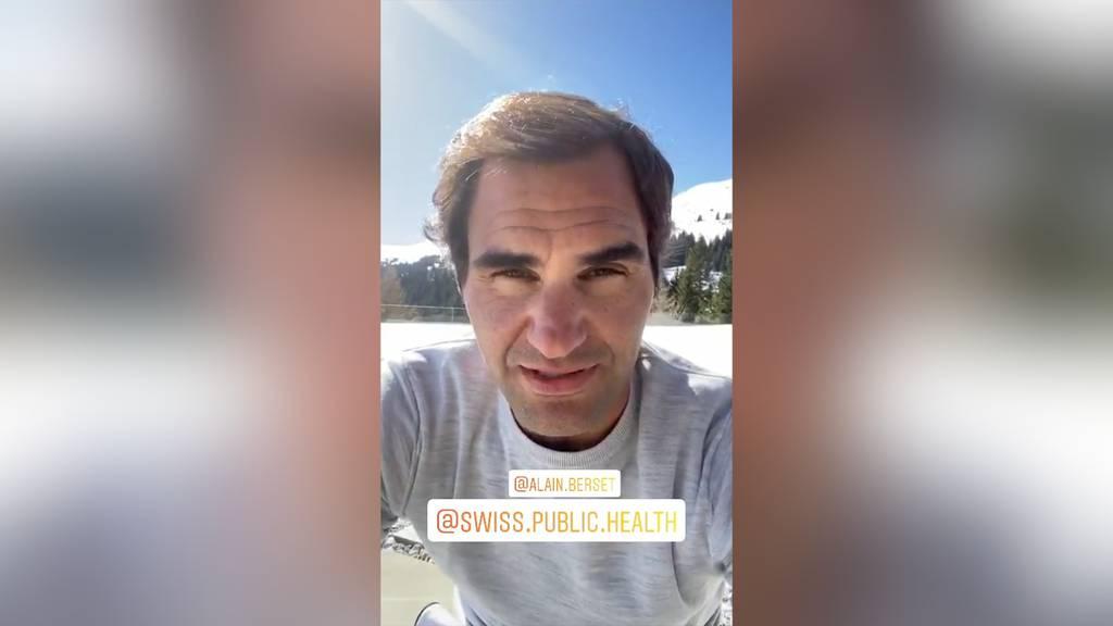 Roger Federer, Christa Rigozzi und viele mehr: So reagieren Stars auf Alain Bersets Insta-Challenge