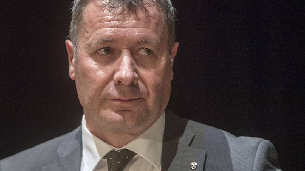 Der Nidwaldner Volkswirtschaftsdirektor Othmar Filliger