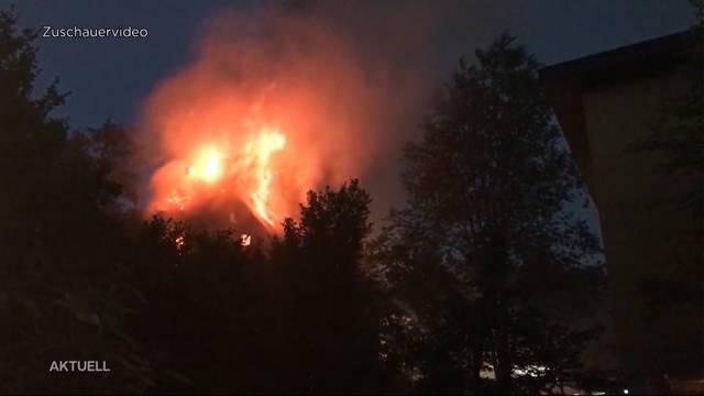 Mutmasslicher Brandstifter von Herzogenbuchsee geschnappt