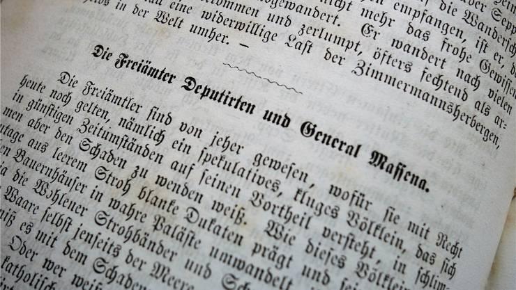 Die Erzählung im Band «Die poetische Nationalliteratur» von 1867 ist auch sprachlich ein Genuss.