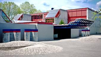 Oberstufenschulhaus im Schachen Aarau.