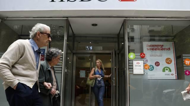 HSBC-Filiale in Buenos Aires: Argentinien klagt an (Archiv)