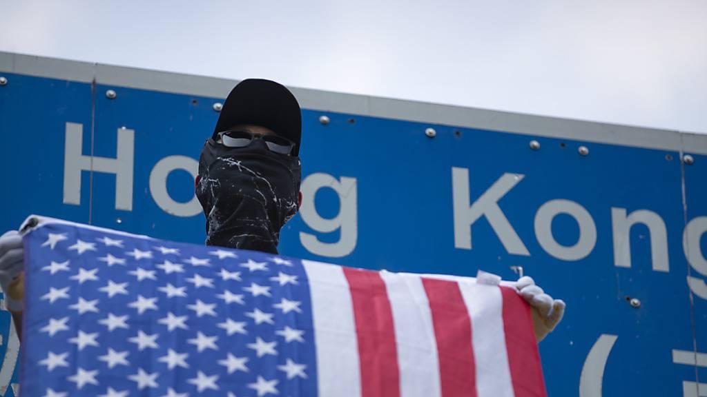 China verhängt im Streit um Hongkong Sanktionen gegen die USA