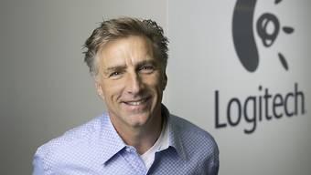 Logitech-Chef Darrell Bracken sieht den Konzern auf Kurs. (Archivbild)