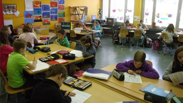 Ab dem Schuljahr 2014/15 gehen die Stetter Primarschüler der 5. und 6. Klasse nach Künten zur Schule. zvg