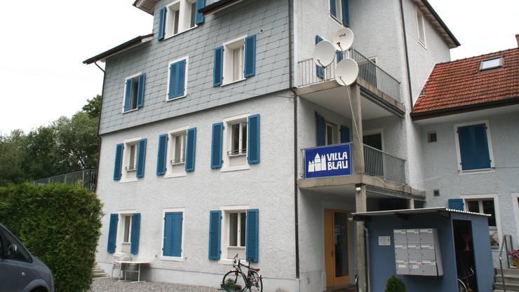 Die Villa Blau in Buchs.