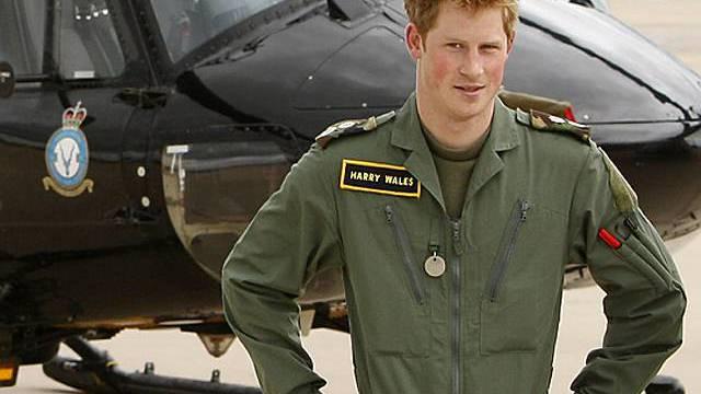 Prinz Harry kommt mit Heli gut zurecht
