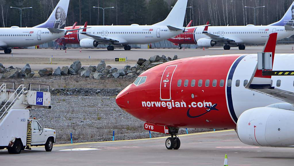 Norwegian ist hochverschuldet (Archivbild).