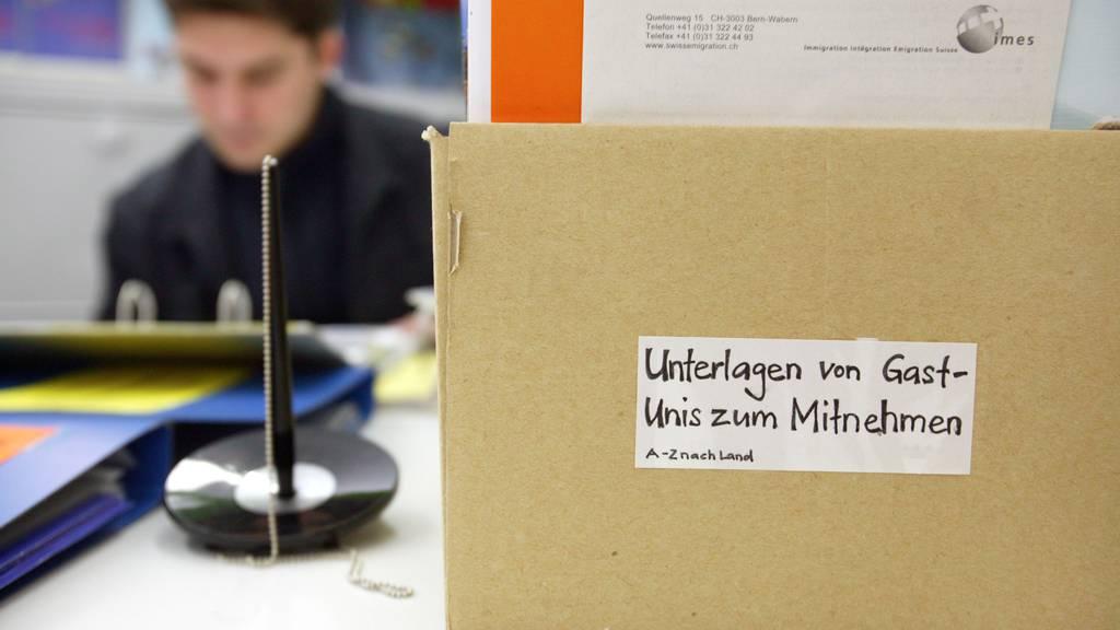 Mit der Gesetzesrevision soll Bund soll den internationalen Austausch von Studenten auch in Zukunft fördern können.