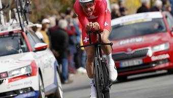 Stefan Küng ist an den Schweizer Meisterschaften im Zeitfahren nicht zu schlagen