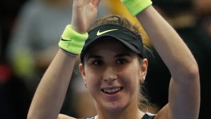 Bereit für den Start zum Höhepunkt des Jahres: Am Sonntag spielt Belinda Bencic erstmals an den WTA Finals - und dies gleich gegen die Weltnummer 1 Ashleigh Barty