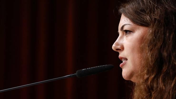 Tamara Funiciello präsidiert die Juso noch bis Ende August.