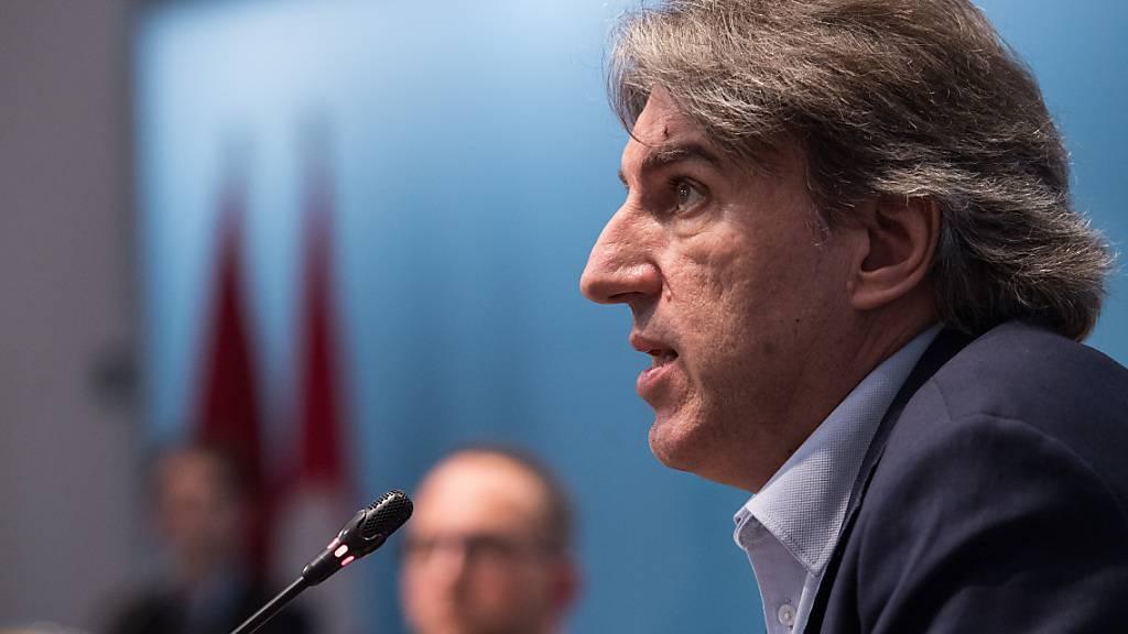 Manuele Bertoli übernimmt das Tessiner Regierungspräsidium