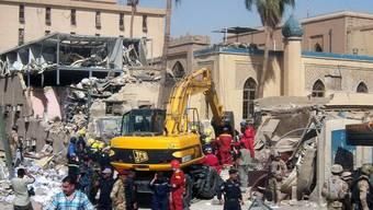 Rettungskräfte vor Ort: Beim Anschlag starben mindestens 22 Menschen