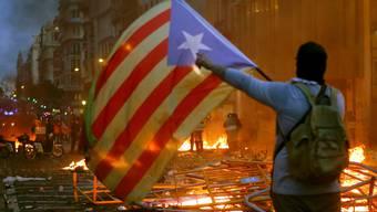 Ausschreitungen in Barcelona in der Nacht auf Samstag