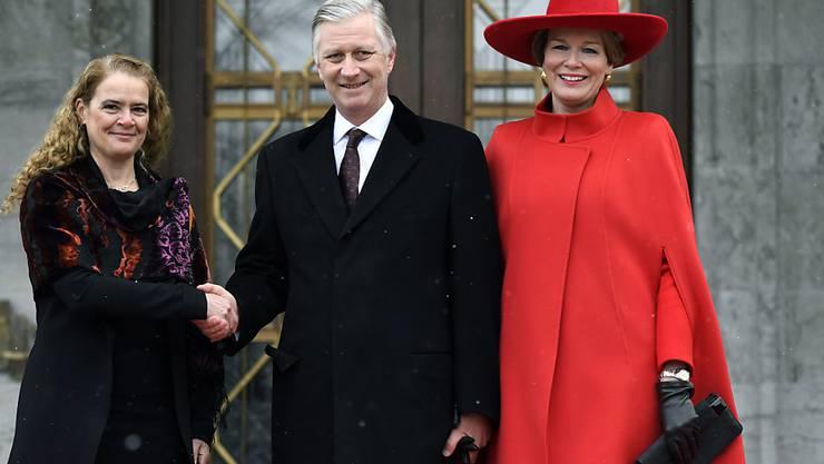 Derzeit ist das belgische Königspaar Philippe und Mathilde auf Besuch in Kanada.