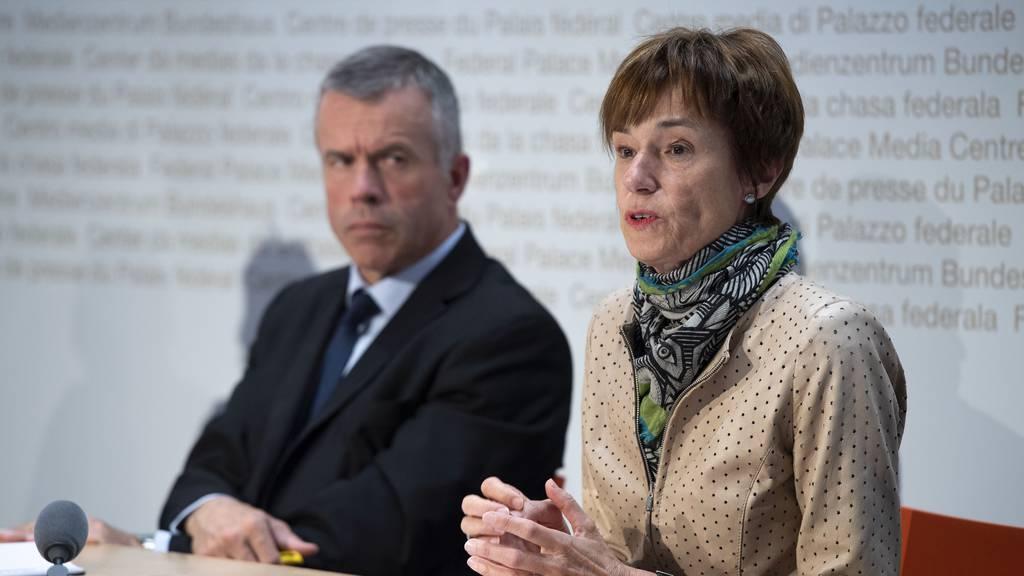 Die Aargauer CVP-Nationalrätin Ruth Humbel präsidiert die Gesundheitskommission. Unter ihrer Leitung will die Kommission nun Dividendenausschüttungen einen Riegel schieben.