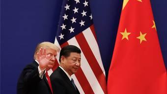 Die Spannungen zwischen Donald Trump und Xi Jinping bringen Börsen weltweit ins Trudeln.