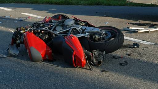 Töfffahrer bei Auffahrkollision verletzt