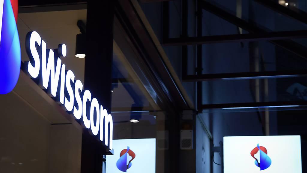 Swisscom kann im ersten Halbjahr zulegen