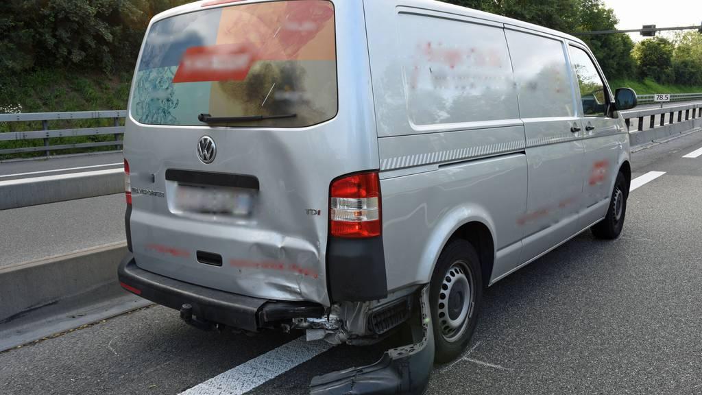Bis zu einer Stunde Wartezeit wegen Unfällen auf der Autobahn