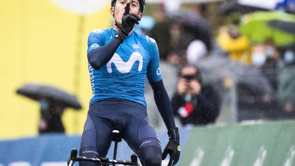 Marc Soler gewinnt in Estavayer die 3. Etappe der Tour de Romandie