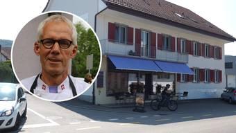 Markus Kunz, Inhaber Bäckerei Kunz: «Wenn sich etwas an den drei Parkplätzen ändert, dann mache ich den Laden noch am selben Tag dicht.»