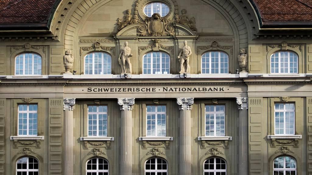 Sitz der Schweizerischen Nationalbank in Bern.
