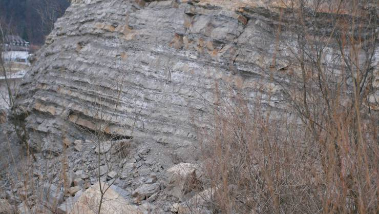 Erosion: Rund vier Kubikmeter Fels sind abgebrochen. cov