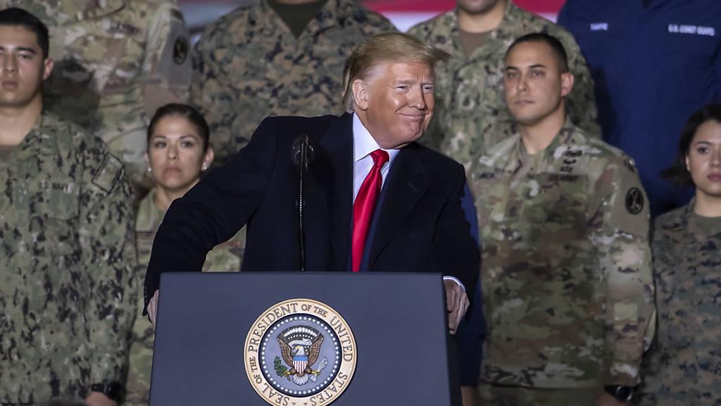 Trump ruft «Space Force» als neue Teilstreitkraft ins Leben