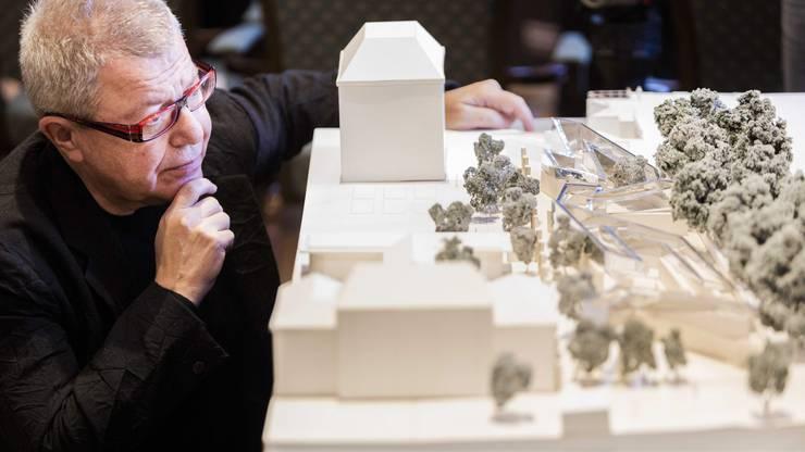 An der Architekten-Weltspitze: Daniel Libeskind.