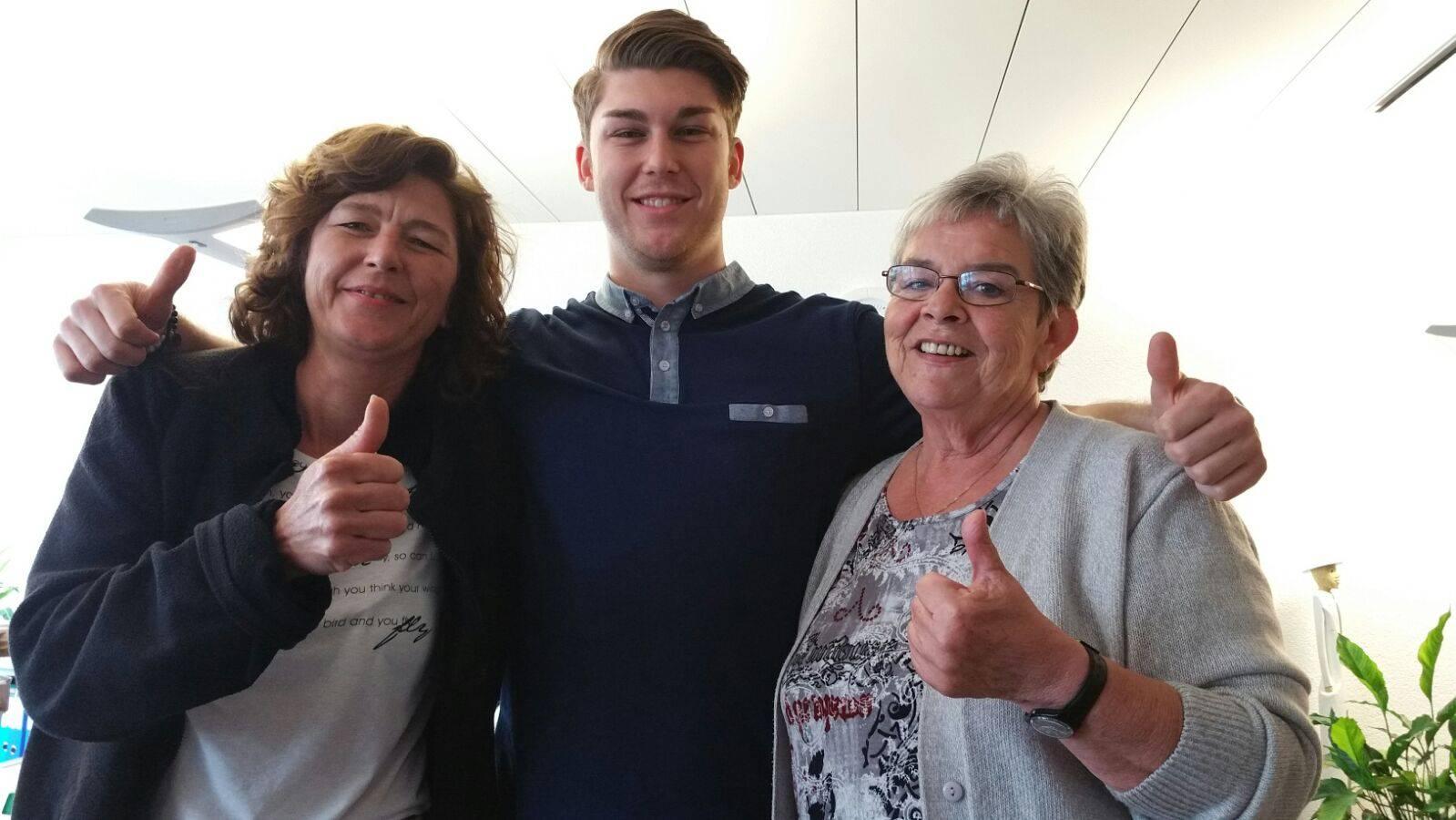 5gwönnt: Luca aus Oberglatt gewinnt 800.-