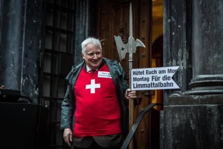 Der Unterengstringer SVP-Kantonsrat Willy Haderer